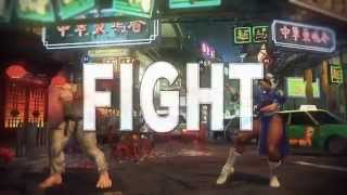 Street Fighter V 1st Gameplay Trailer (Exclusive PS4 & PC)
