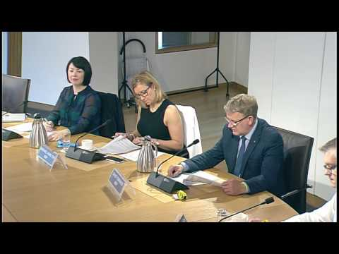 Delegated Powers and Law Reform Committee - Scottish Parliament: 20th September 2016