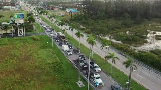 Frustration as Florida Keys residents try to return home
