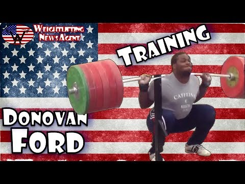 Donovan Ford (USA, 105KG) - Olympic Weightlifting Training - Motivation - 동영상