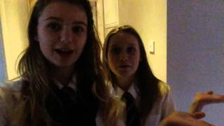 Masterpiece video star with Leah