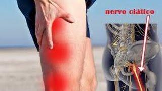 Direita parte de perna dor até trás a da