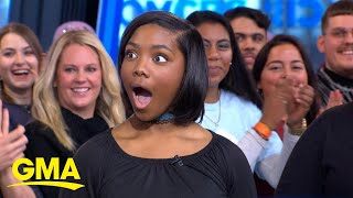 13-year-old football player surprised with tickets to Super Bowl l GMA
