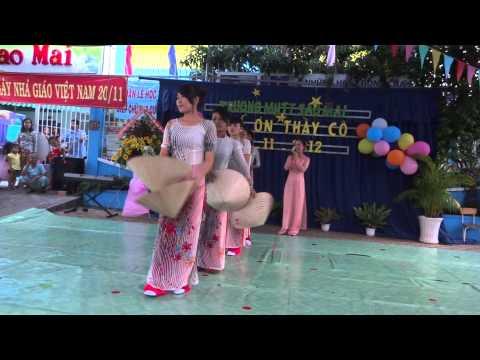 """Hát & múa """"Bài ca cô giáo trẻ"""" các cô trường MN Sao Mai Q8 biểu dễn mừng 20-11-12"""
