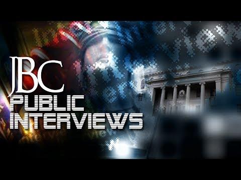 JBC Public Interview for Associate Justice