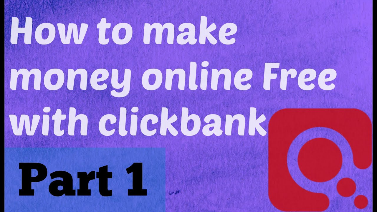Make Money Online Mit Clickbank