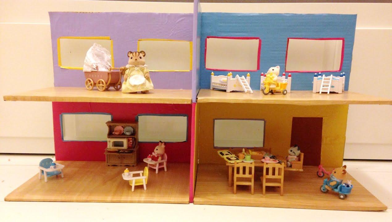Diy como fazer uma casa de bonecas youtube for Como criar peces ornamentales en casa