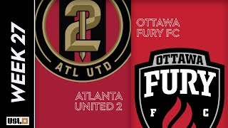 Atlanta United 2 vs. Ottawa Fury FC: September 7th, 2019