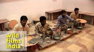 Workers At Marble Inlay Factory - Agra, Uttar Pradesh