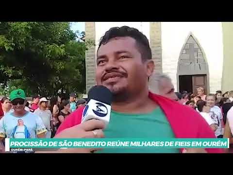 CENTENÁRIA PROCISSÃO DE SÃO BENEDITO REÚNE MILHARES DE FIEIS EM OURÉM