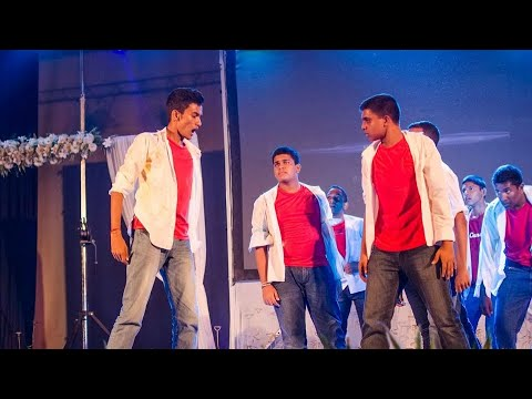 Dharmaraja College Dancing Item in NRUTHYA 2016