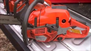 60cc Husqvarna 562xp vs. 70cc Cyclops 372 vs. Ash Tree & Fence, Do you NEED a 70cc saw??