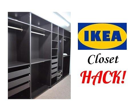 IKEA CLOSET HACK‼️BASEMENT FINISHING IDEAS‼️