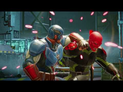 Marvel Strike Force Mobile RPG Coming in 2018 For Android / IOS