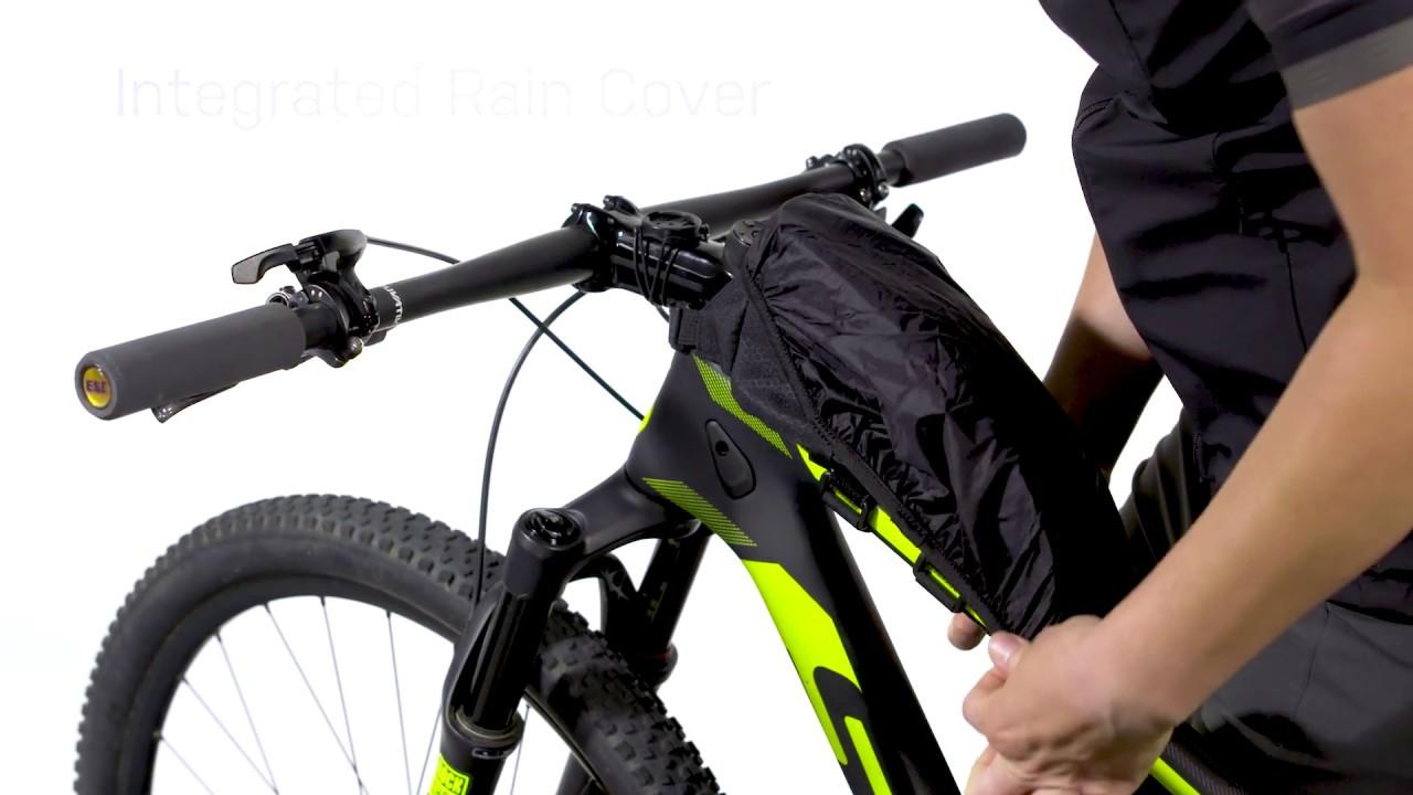 Bike Bicycle Frame Top Tube Bag Pannier /& Rain Cover Topeak TBP-TL1B Toploader