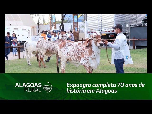 Expoagro completa 70 anos de história em Alagoas