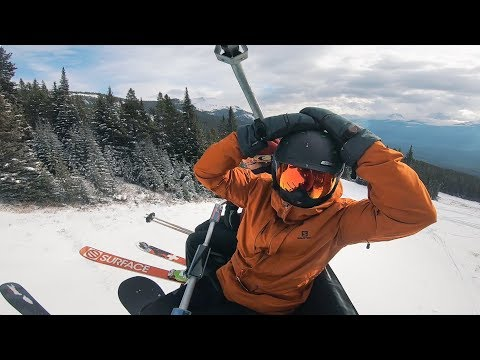Living The Dream Life - EPIC SKIING In Banff, Canada | VLOG 01