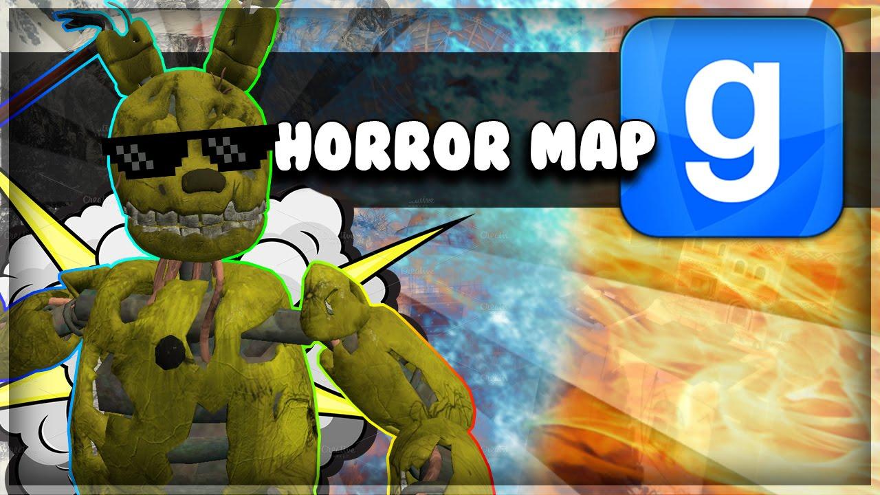Gmod scary map fnaf freeze gun cum gun and more garry s mod