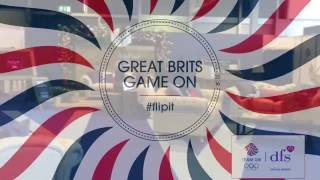DFS | Team GB | Great Brits : Game On | #FlipIt