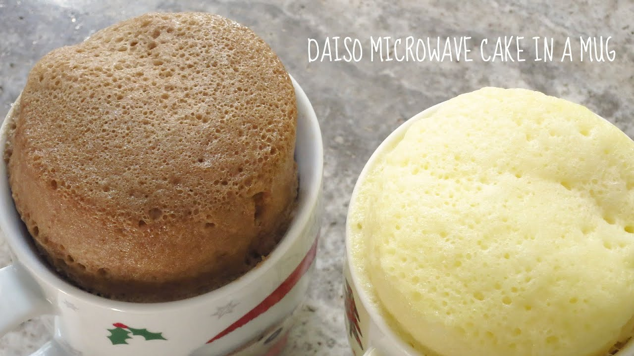 how to make cake in a cup in microwave