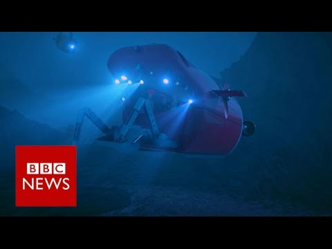 China's new deep sea submarine - BBC News