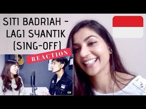 Siti Badriah - Lagi Syantik- Reza Darmawangsa VS Salma -- REACTION!