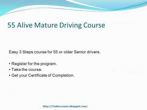 Mature driver improvement programs