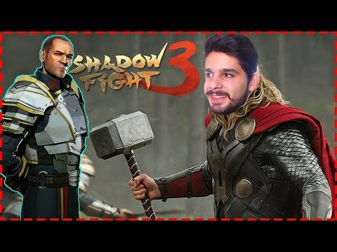 Thor Çekiçi! - Shadow Fight 3 - Hain Sarge Boss Battle Bölüm 1 Final! #5