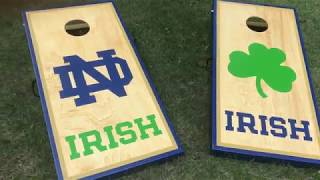Make Easy and FANCY Cornhole Boards | How to Build
