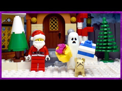 Lego Ghost And Dog Merry Christmas 2018