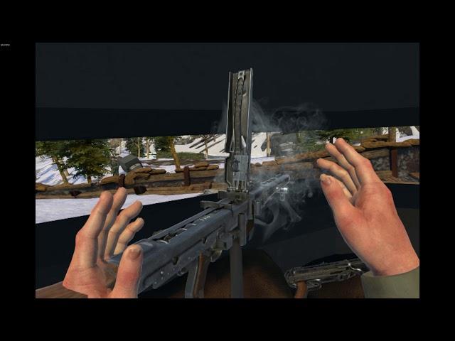 Winter Fury: The Longest Road PC VR gameplay (Lenovo Explorer) - WW2 wave shooter