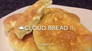 CLOUD BREAD only 3 ingredients! ☁️☁️☁️
