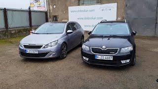 Купили Skoda Octavia A7 и Peugeot 308 на продажу. Живём сутки на Границе. Битки на Таможне.