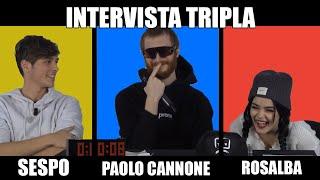 INTERVISTA TRIPLA - SESPO, ROSALBA E PAOLO CANNONE (BY BOOSERS)