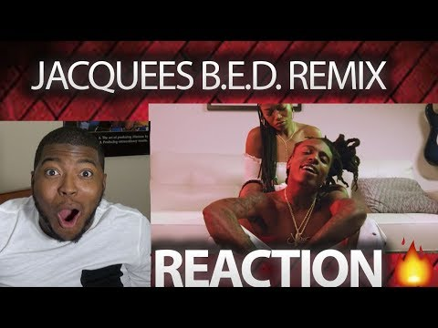 JACQUEES - B.E.D. (REMIX) FT. TY DOLLA $IGN, QUAVO OFFICIAL VIDEO REACTION