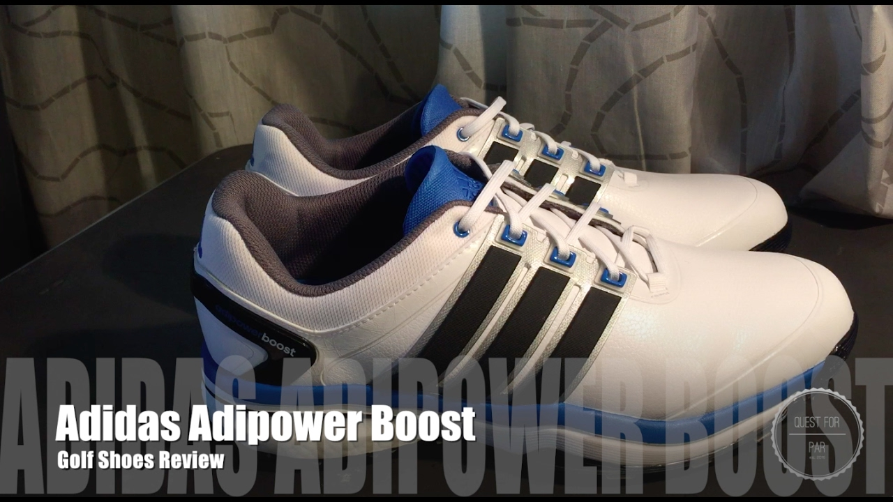 985b1f61ba79b2 Adidas Adipower Boost Golf Shoes Review - YouTube