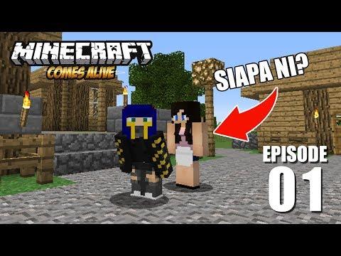 Yeeaaaaay akhirnya punya temen!   E1   Minecraft Comes Alive Indonesia