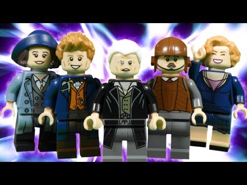 LEGO FANTASTIC BEASTS - GRINDELWALD ATTACK - WIZARDING WORLD STOP MOTION
