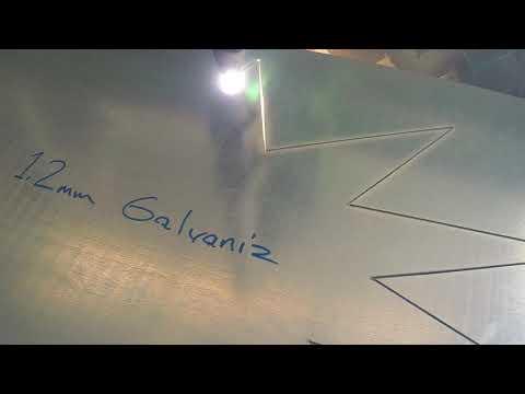 Toprak CNC 150x300 CNC Plazma Video / Mach3 Plasma