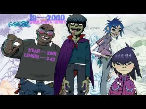 Gorillaz | 19-2000 (Soulchild Remix) | karaoke