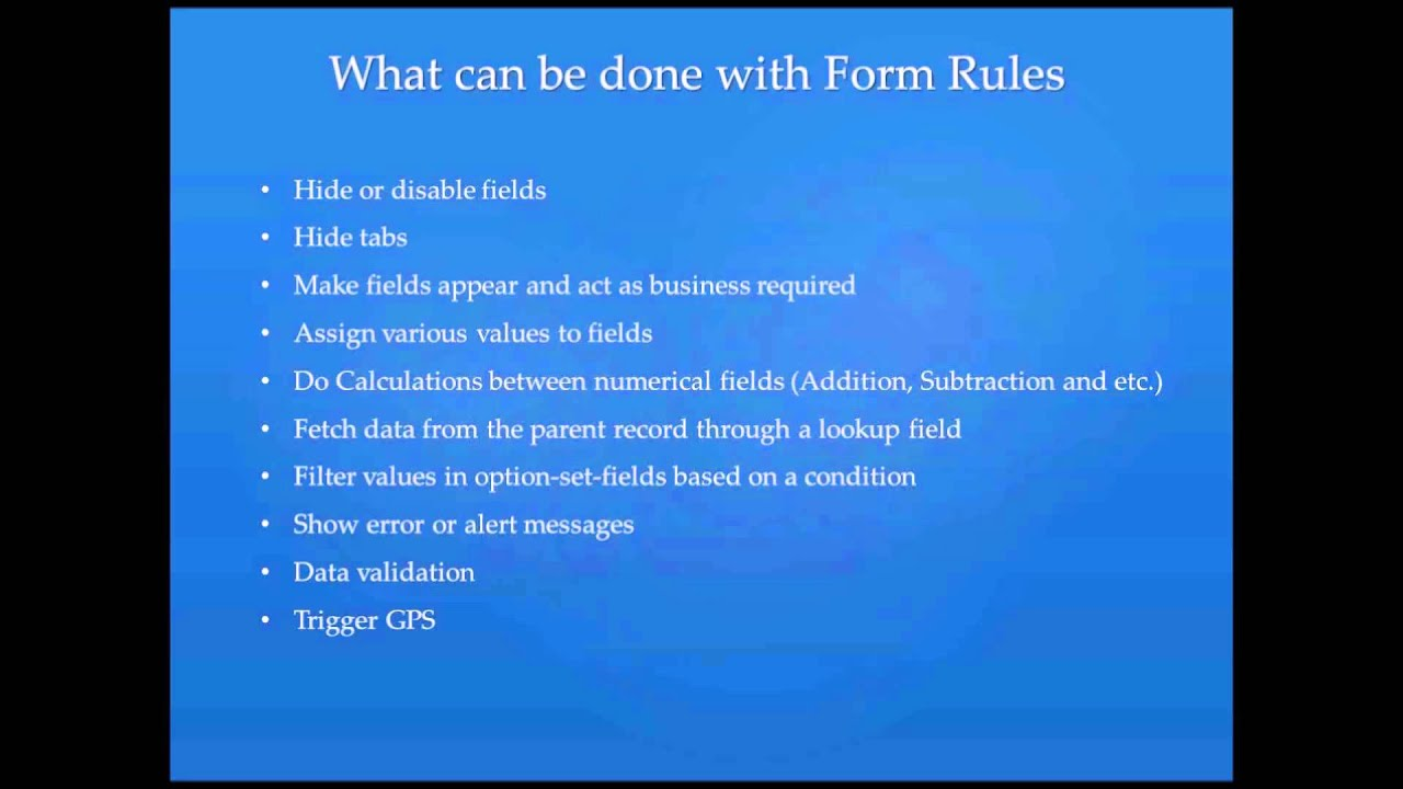 1 Form Rules Intro | Resco Mobile CRM for Dynamics CRM