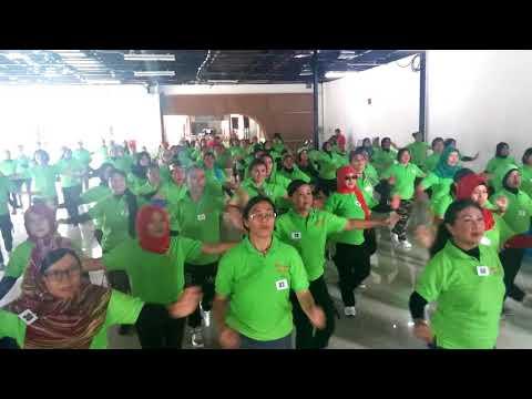 Workshop Senam Kreasi Uwiw Uwiw