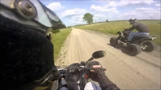 Quady / Suzuki Ltz 400 / ATV Sportowe Jazda w terenie