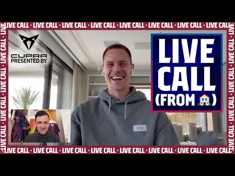 TER STEGEN shares isolation tips from his home (LIVE CALL Presented by Cupra)