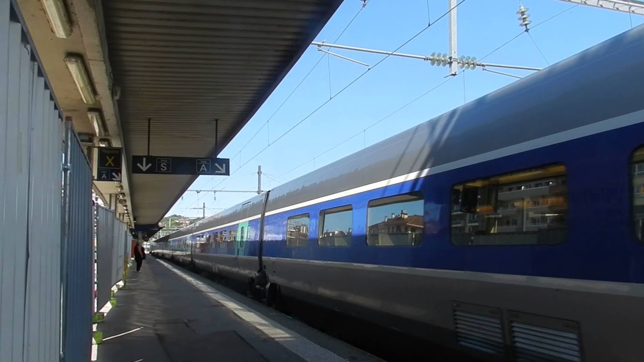 tgv paris gare de lyon annecy youtube. Black Bedroom Furniture Sets. Home Design Ideas