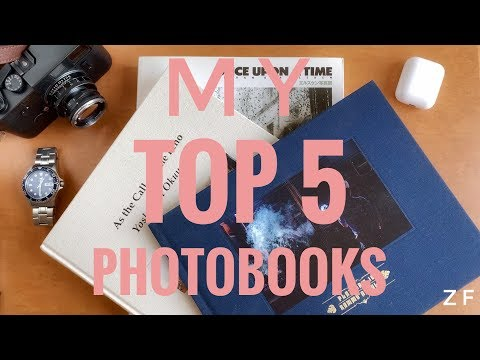 My TOP 5 Photography Books Of 2020
