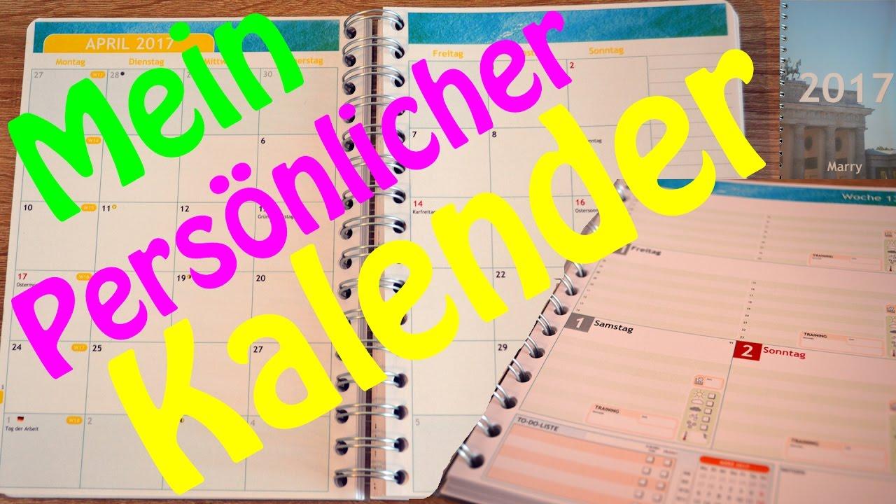 Gutscheincode Persönlicher Kalender