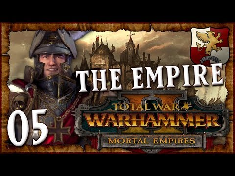 VLAD\'S ARMY INVADES! | WARHAMMER II - Mortal Empires (The Empire) #5