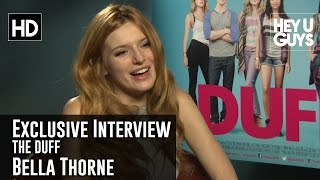 bella thorne exclusive interview the duff