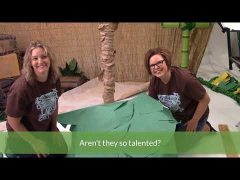 Shipwrecked Decorating | Palm Trees